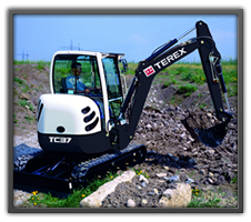 Terex Mini Excavators