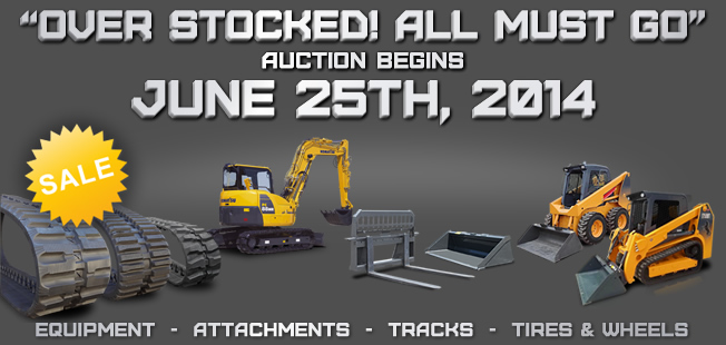 June 25th 2014 Construction Equipment Auction